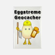 Eggstreme Geocaching Rectangle Magnet