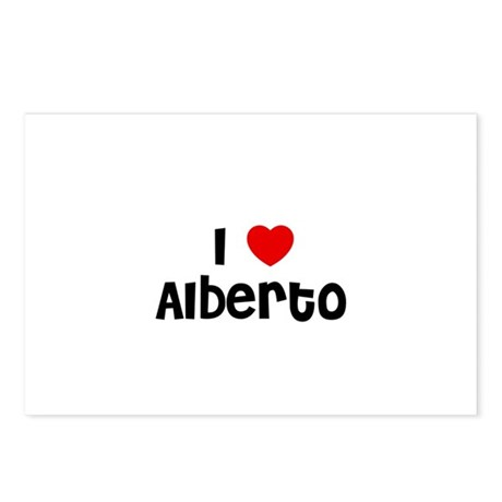 I * Alberto Postcards (Package of 8)