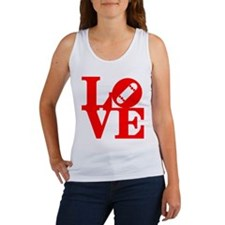 Love skate deck red Women's Tank Top