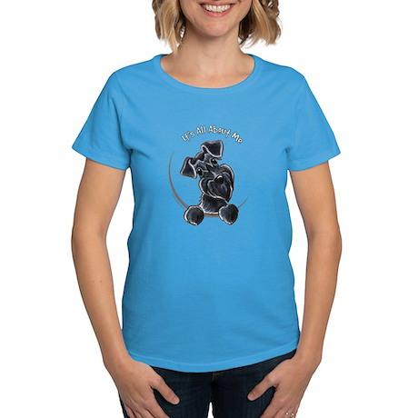 Black Schnazuer IAAM Women's Dark T-Shirt