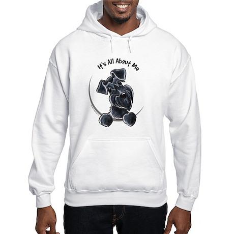 Black Schnazuer IAAM Hooded Sweatshirt