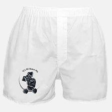 Black Schnazuer IAAM Boxer Shorts