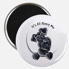 """Black Schnazuer IAAM 2.25"""" Magnet (10 pack)"""