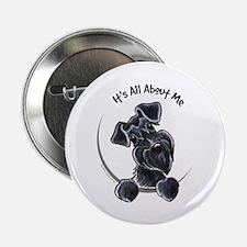 """Black Schnazuer IAAM 2.25"""" Button"""