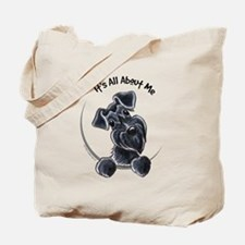 Black Schnazuer IAAM Tote Bag