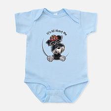 Boy Schnauzer IAAM Infant Bodysuit