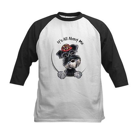 Boy Schnauzer IAAM Kids Baseball Jersey