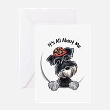 Boy Schnauzer IAAM Greeting Card