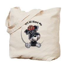 Boy Schnauzer IAAM Tote Bag