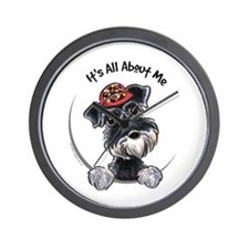 Boy Schnauzer IAAM Wall Clock