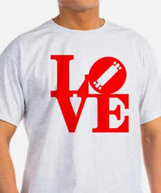 Love longboard red T-Shirt