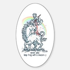 Leap Frog Unicorn Decal