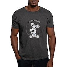 White Schnazuer IAAM T-Shirt