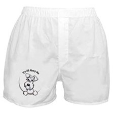 White Schnazuer IAAM Boxer Shorts