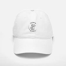White Schnazuer IAAM Baseball Baseball Cap