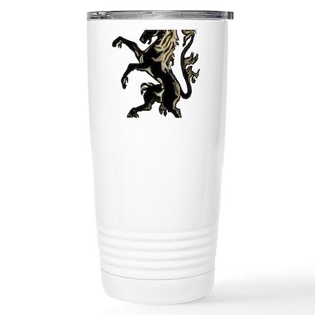 Unicorn Rampant Stainless Steel Travel Mug