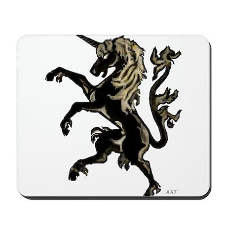Unicorn Rampant Mousepad