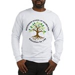 Adult MSHR Long Sleeve T-Shirt White Of Grey