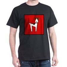 graphic terrier (red) T-Shirt