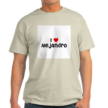 I * Alejandro Ash Grey T-Shirt