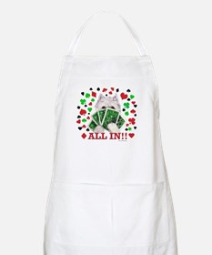 Westie Playing Poker BBQ Apron