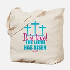 Lord Has Risen Tote Bag