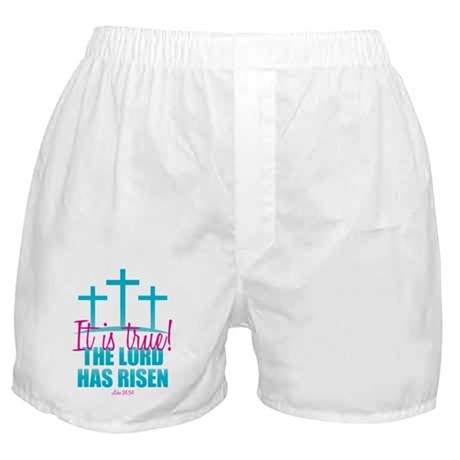 Lord Has Risen Boxer Shorts
