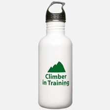 Climber in Training Water Bottle