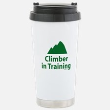 Climber in Training Stainless Steel Travel Mug
