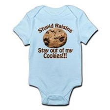 Stupid Raisins Infant Bodysuit