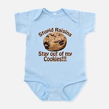 Stupid Raisins Infant Bodysuit