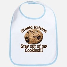 Stupid Raisins Bib