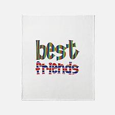 Best Friends - Throw Blanket