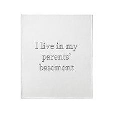 Basement Dweller - Throw Blanket