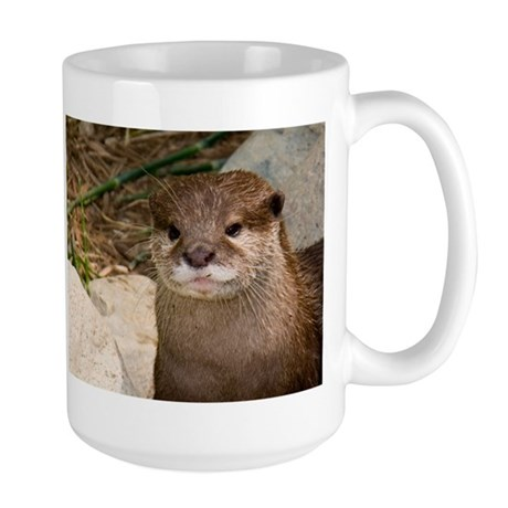 Asian Small-Clawed Otter Large Mug