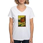 The GUNSLINGER Women's V-Neck T-Shirt