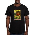 The GUNSLINGER Men's Fitted T-Shirt (dark)