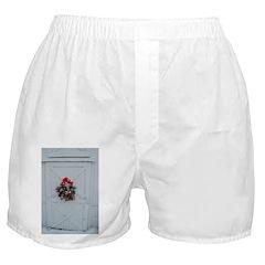 Christmas Barn Door Boxer Shorts