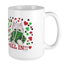 Westie Playing Poker! Mug