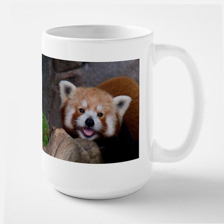 Red Panda Large Mug