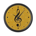 Classical Music Room Wall Clock