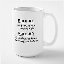Broncos Large Mug