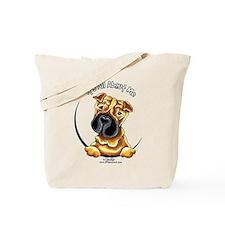 Chinese Shar Pei IAAM Tote Bag