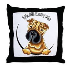 Chinese Shar Pei IAAM Throw Pillow
