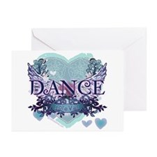 Dance Forever by DanceShirts.com Greeting Cards (P