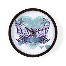 Dance Forever by DanceShirts.com Wall Clock