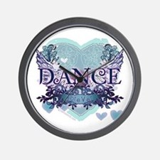 Dance Forever by DanceShirts.com Wall Clock