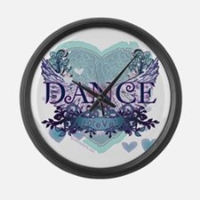 Dance Forever by DanceShirts.com Large Wall Clock