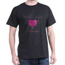 World's Greatest Manager (Heart) T-Shirt