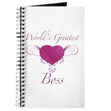 World's Greatest Boss (Heart) Journal